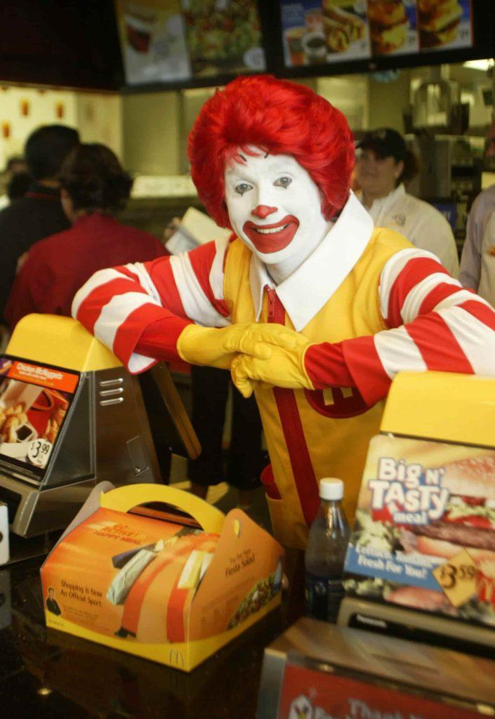 Ronald McDonald scaled