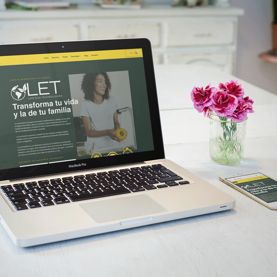Life eco technologies eCommerce