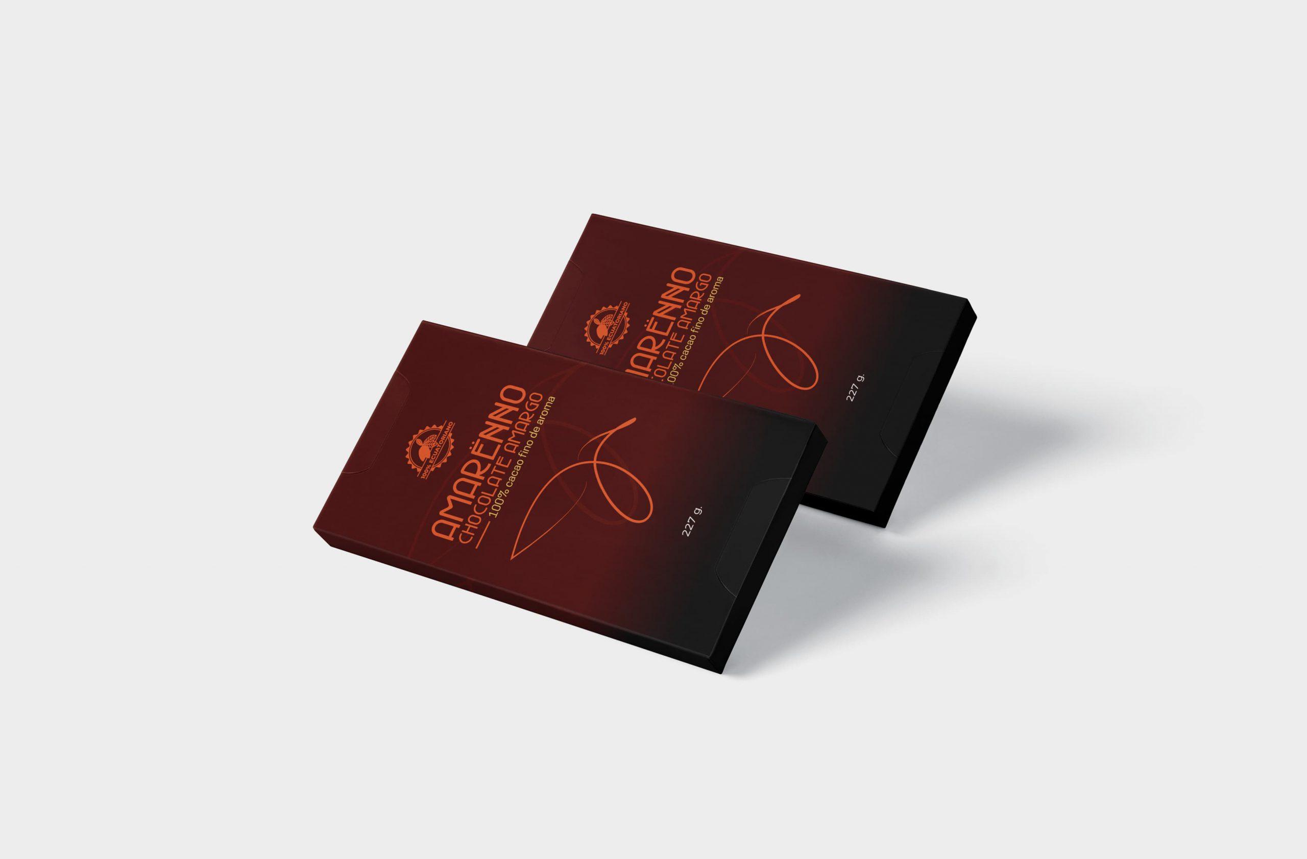 Packaging chocolate Amarënno