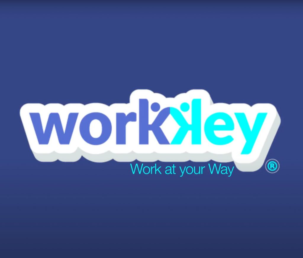 Workkey video Animación