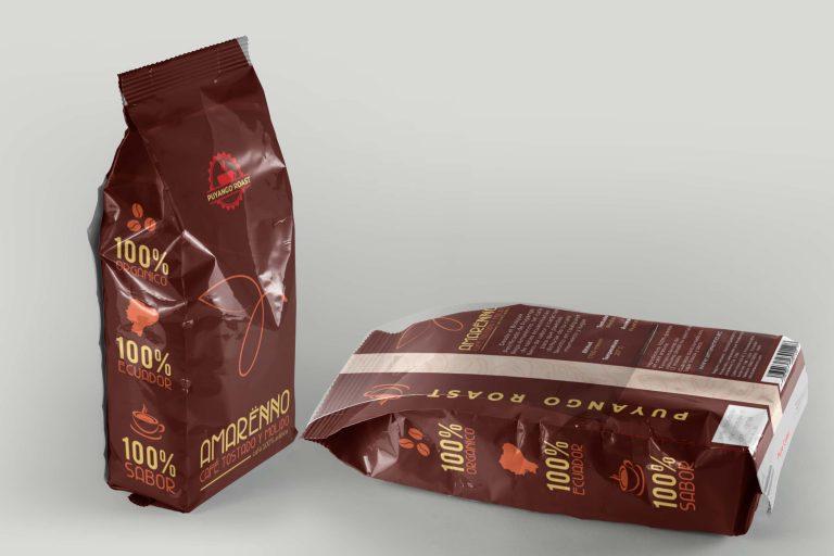 Packaging café Amarënno