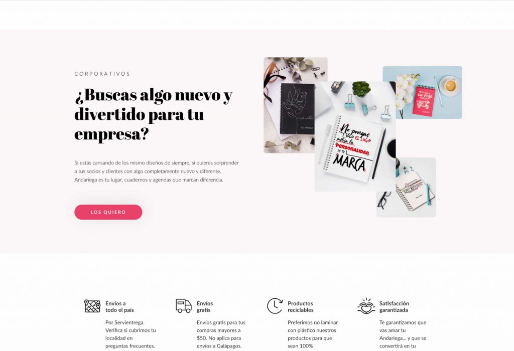 Andariega Store eCommerce