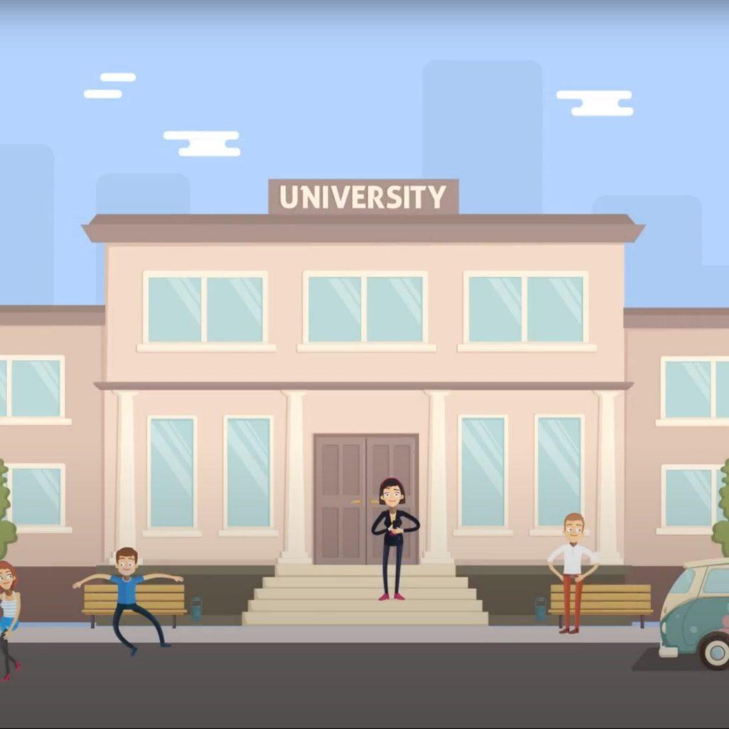 Workkey video Animación